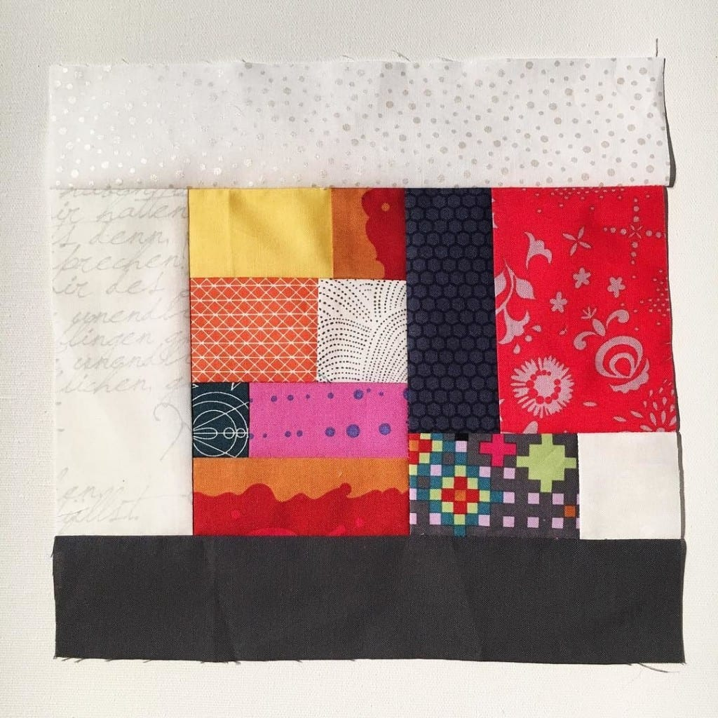 #100DaysofQuiltImprov Day 56 by Amy Ellis - Amyscreativeside.com