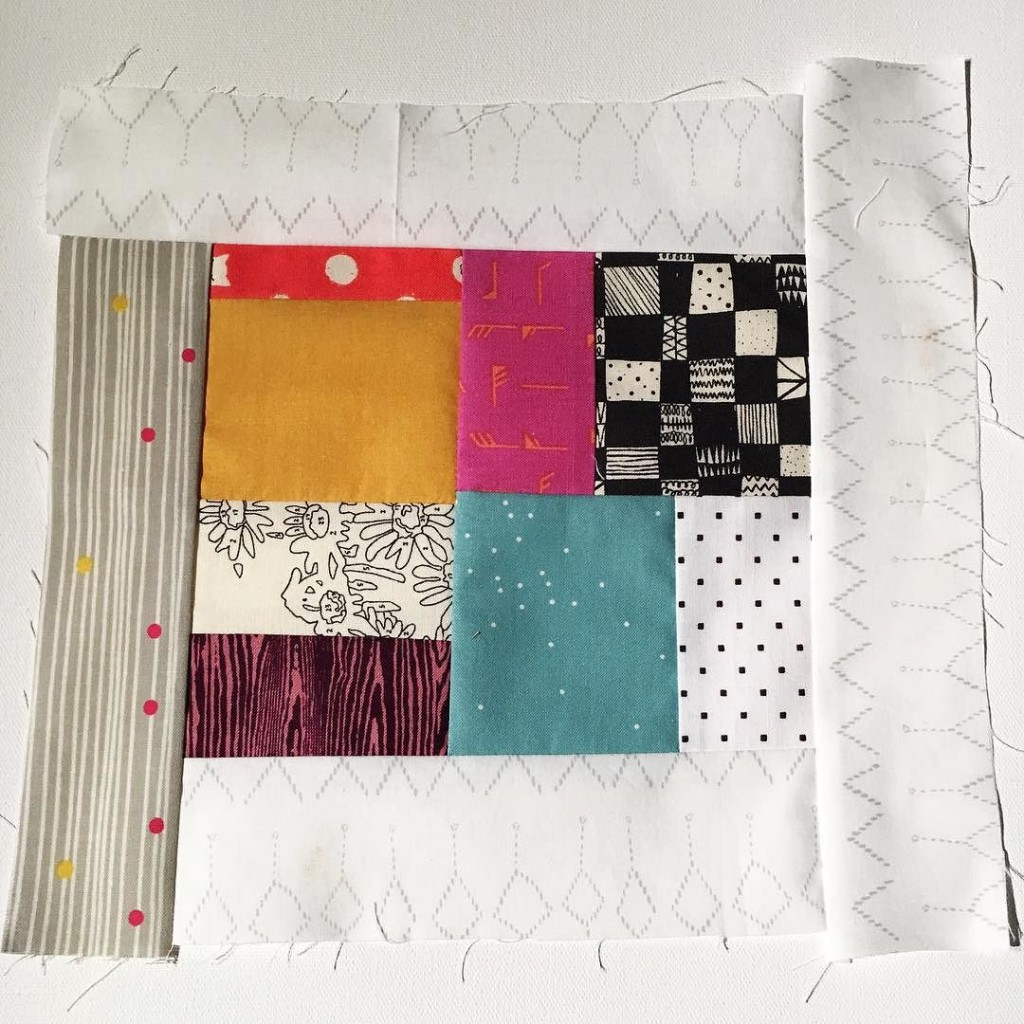 #100DaysofQuiltImprov Day 50 by Amy Ellis - Amyscreativeside.com