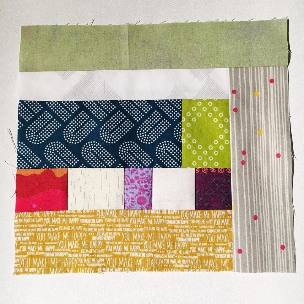 #100DaysofQuiltImprov Day 59 by Amy Ellis - Amyscreativeside.com