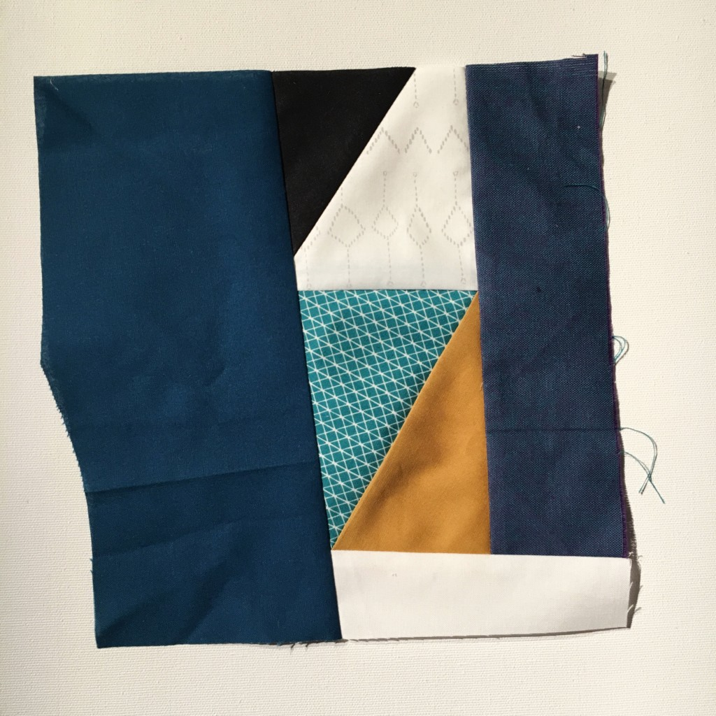 #100DaysofQuiltImprov Day 43 by Amy Ellis - Amyscreativeside.com