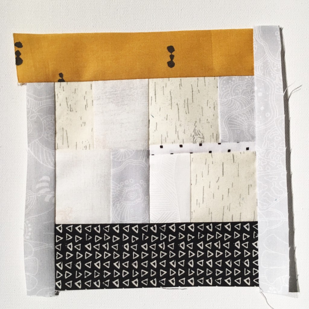 #100DaysofQuiltImprov Day 45 by Amy Ellis - Amyscreativeside.com