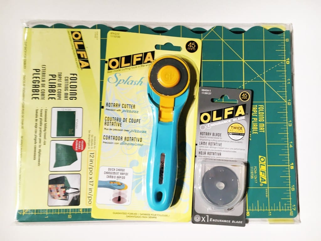 Trimming Improv Blocks with OLFA's NEW Endurance Rotary Blade + Giveaway! AmysCreativeSide.com