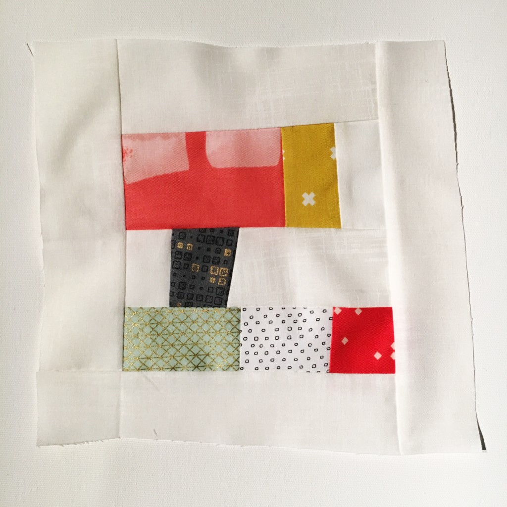 #100DaysofQuiltImprov Day 66 by Amy Ellis - Amyscreativeside.com