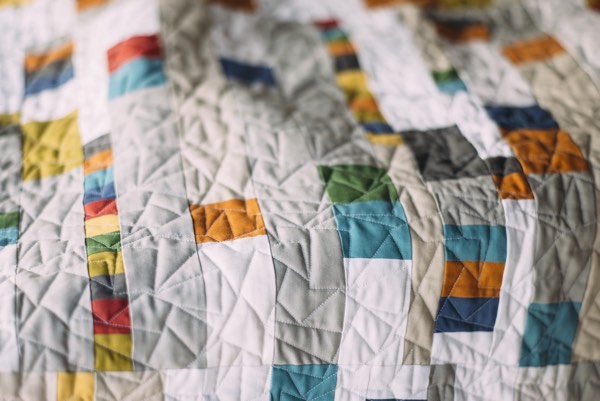 Rooftop Wonders by Amy Ellis for Curated Quilts Issue #1
