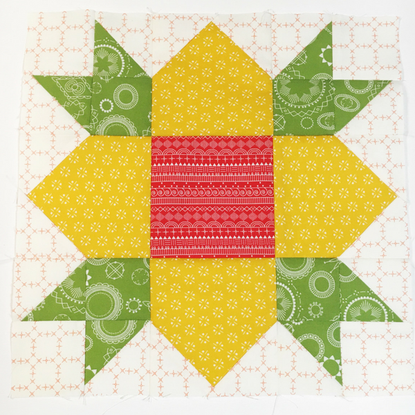 Heartland Heritage - Wildflower Block