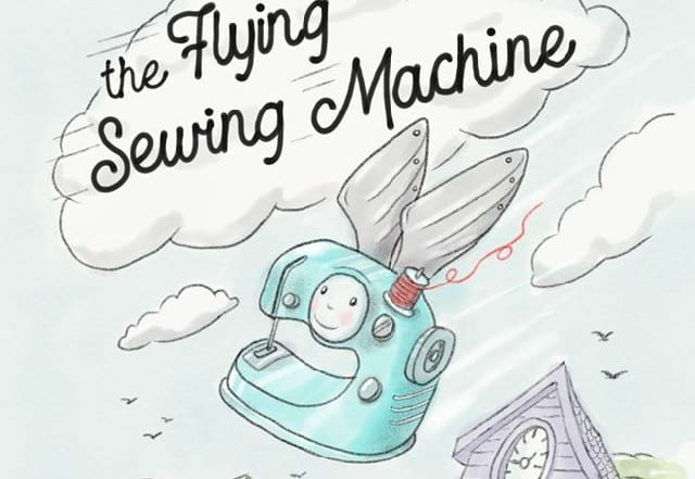 The Flying Sewing Machine by Nancy Zieman