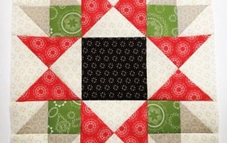 Heartland Heritage March Star Bright Block by Amy Ellis