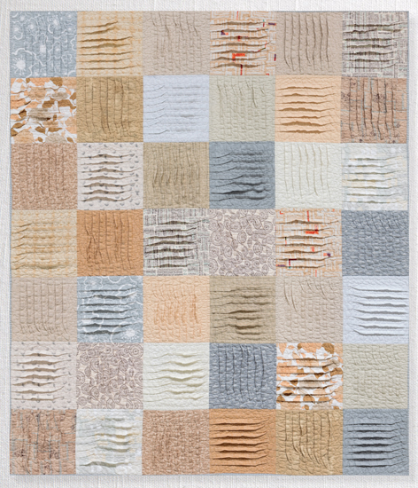 Modern Neutrals :: Pleated Patchwork
