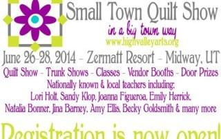 Small Town Quilt Show - AmysCreativeSide.com