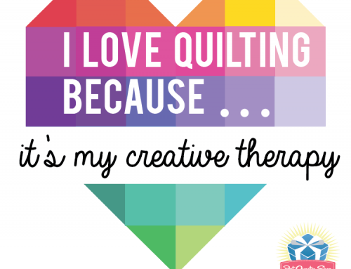 National Sewing & Quilting Month with Fat Quarter Shop!