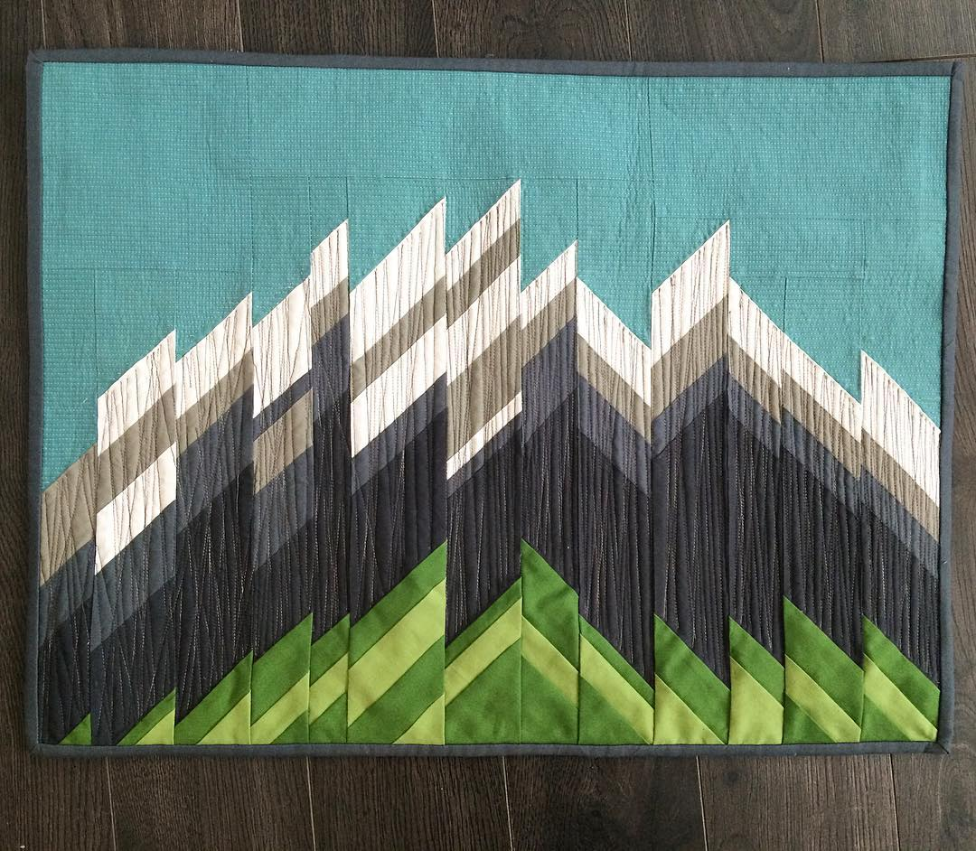 Majestic Mountains Quilt