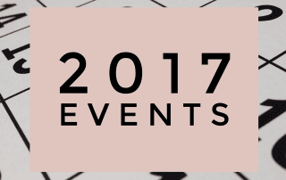 2017 Teaching and Events for AmysCreativeSide.com