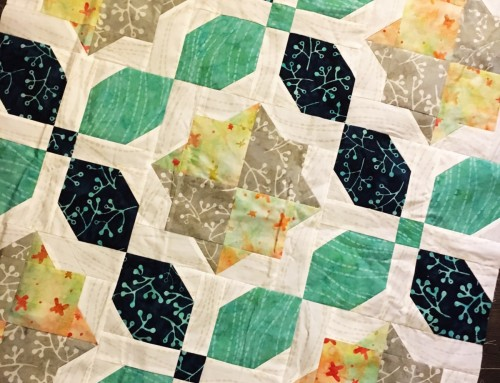 Morning Glory Quilt Top