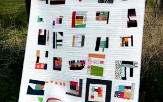 #100daysofquiltimprov finished quilt by Amy Ellis - click over to check out more images!