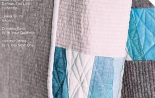 Curated Quilts is a printed publication for the forward thinking quilter! Subscribe today!