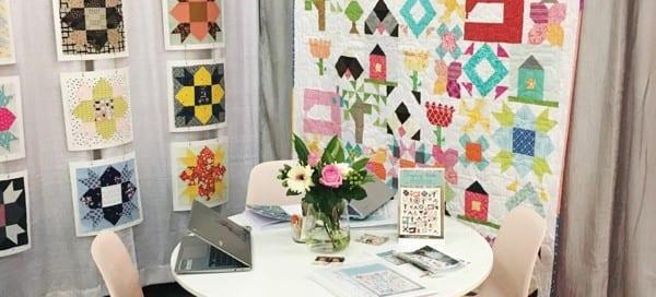Inspiring Stitches at Quilt Market - AmysCreativeSide.com