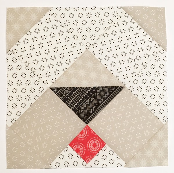Puppy Love block in the Heartland Heritage project by Inspiring Stitches