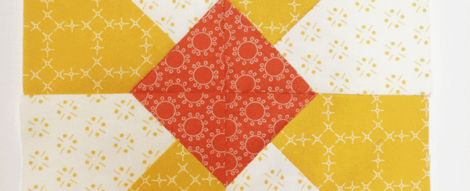 Sunshine block from Heartland Heritage Quilt Pattern