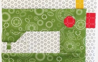 July Sewing Machine for Heartland Heritage by Inspiring Stitches!
