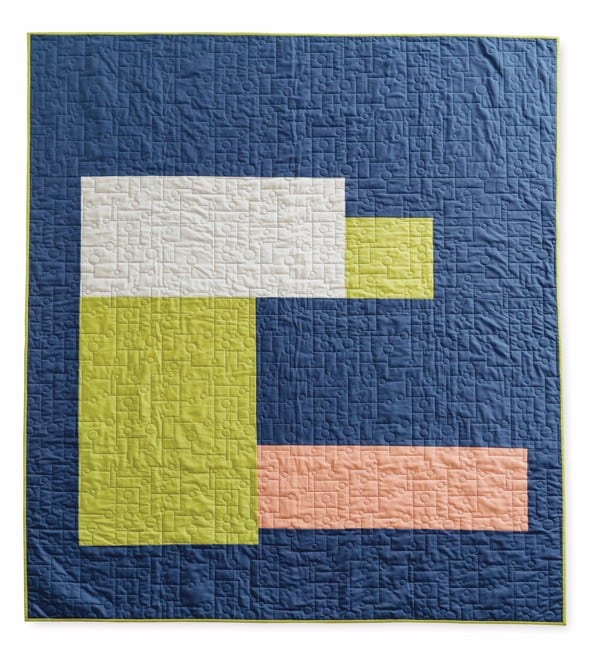 Slab by Amy Ellis for CuratedQuilts.com Minimalistic Quilt, easy quilt, quilting, modern quilt, modern quilting
