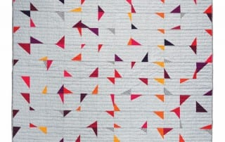 TipsyTriangles by Amy Ellis for CuratedQuilts.com