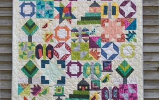 Sew Hometown for Inspiring Stitches by Amy Ellis