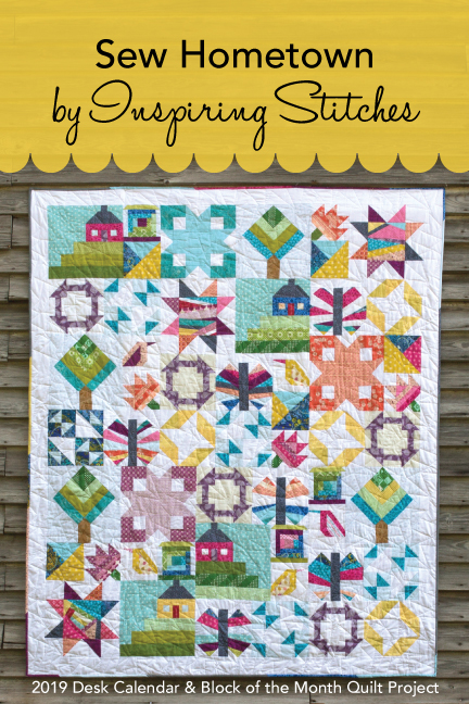 Sew Hometown by Inspiring Stitches, Amy Ellis & Heather Valentine