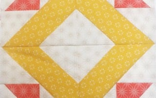 Spotlight block from Heartland Heritage by Inspiring Stitches