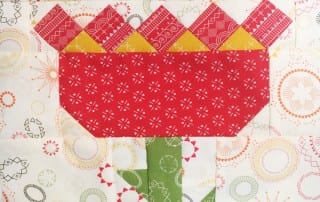 Heartland Heritage Tulip Block for November