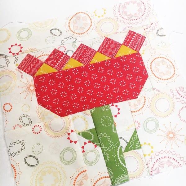 Heartland Heritage Tulip Block for November