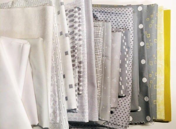 Waterfall Quilt fabric pull - AmysCreativeSide.com
