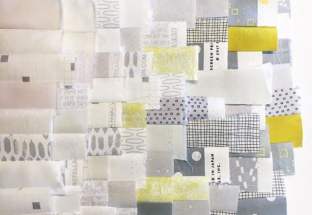 Waterfall Quilt Along - Strip-Piecing Complete