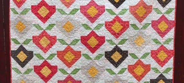 Bouquet Modern Quilt Pattern by Amy Ellis
