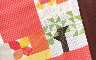 Heartland Heritage Baby Quilt by Amy Ellis in Wanderlust fabrics