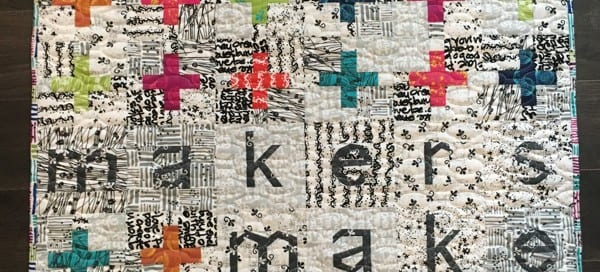 Makers Make by Amy Ellis - paper pieced wall hanging for your sewing space!