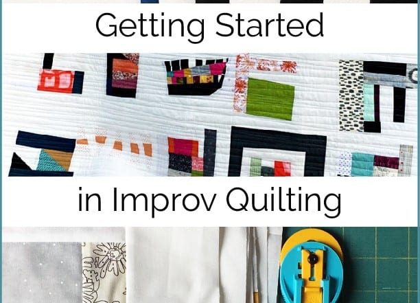 Getting Started in Improv Quilting by Amy Ellis
