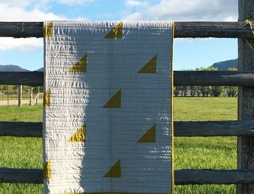 Sew Modern Quilts — Modern Wedge Quilt