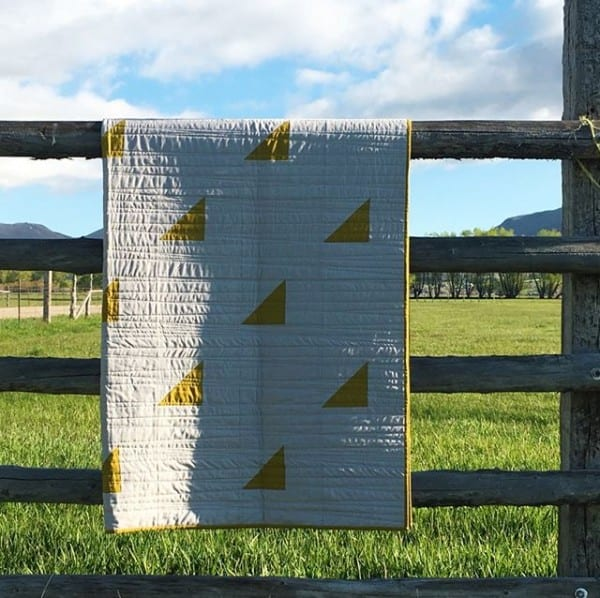 Modern Wedge Quilt by Amy Ellis - Sew Modern Quilts