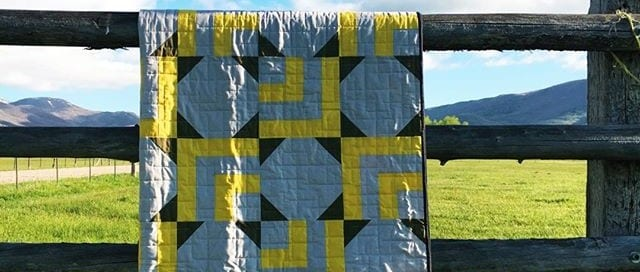Sparkle Star Quilt by Amy Ellis - Sew Modern Quilts