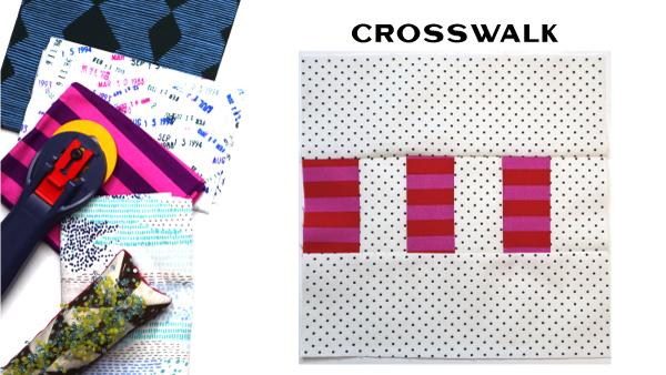 Modern Quilt Block Series - Crosswalk Block Pattern by Amy Ellis