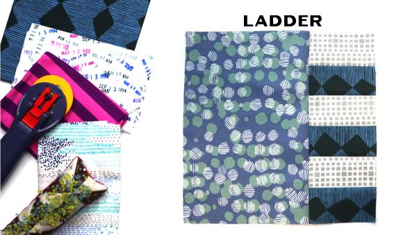 Modern Quilt Block Series - Ladder Quilt Block Pattern by Amy Ellis