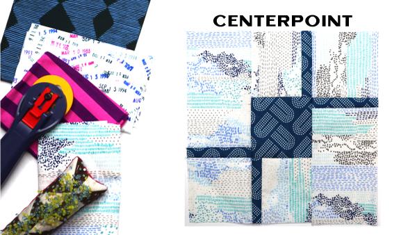 Modern Quilt Block Series - Centerpoint Quilt Block Pattern by Amy Ellis